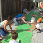 Group Painting Green