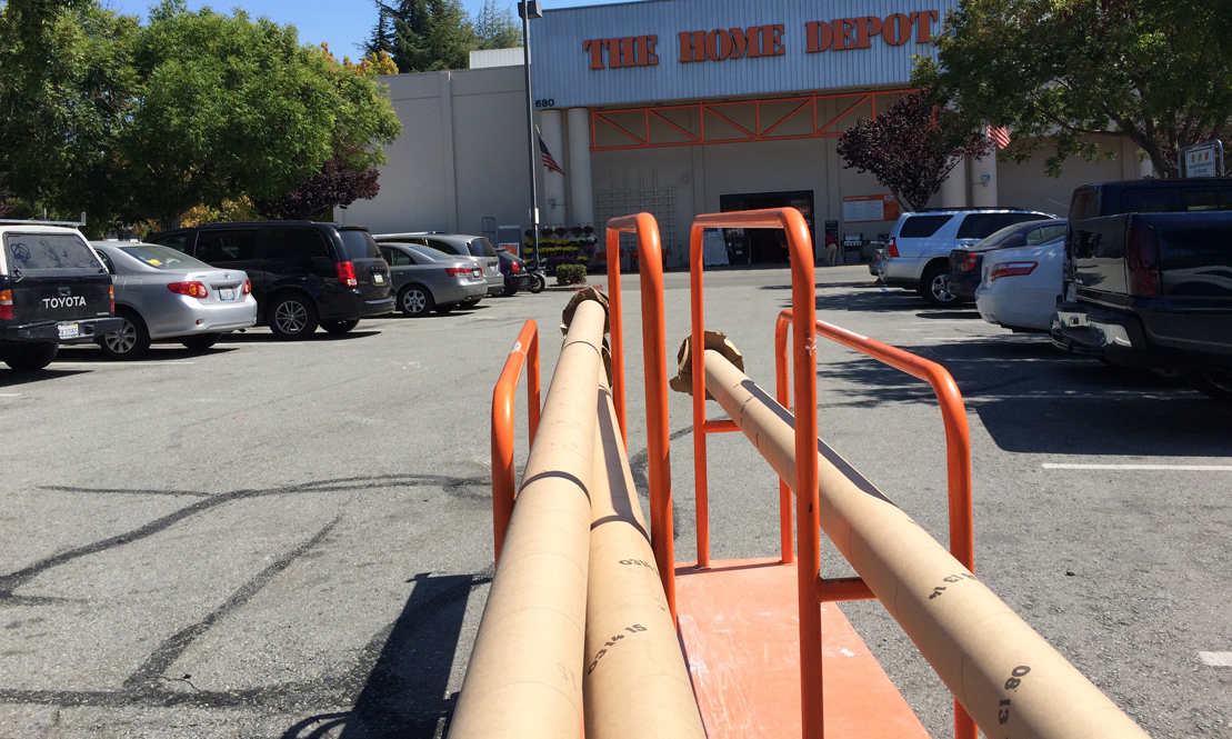Tubes from Home Depot